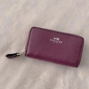 COACH Mini Zip Wallet